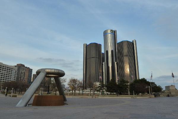 Hart Plaza, Detroit © Foto: Andrea Bonder