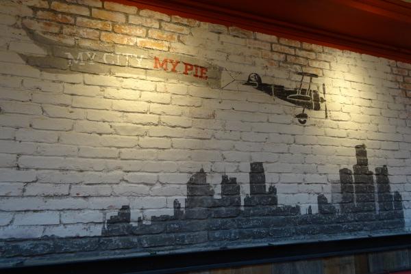 My city, my pie: Die Rede ist von Pizza © Foto: Andrea Bonder
