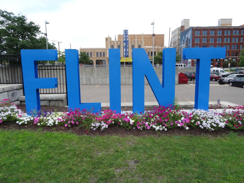 Flint Innenstadt